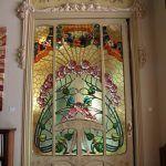 vidriera puerta Casa Manuel Felip