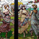 vidriera Las Tres Gracias de Rubens