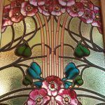 vidriera puerta Casa Maneul Felip