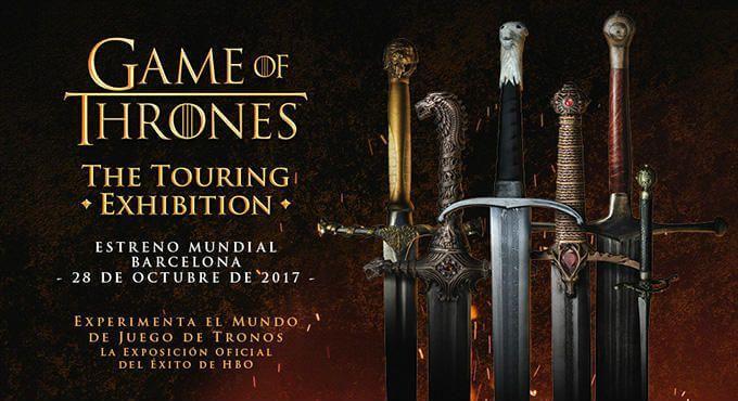 entradas exposición Juego Tronos Barcelona