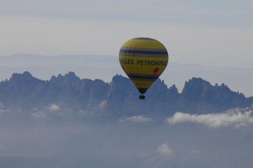 Montserrat en globo