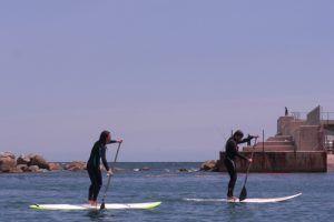 Caiac i Paddel Surf
