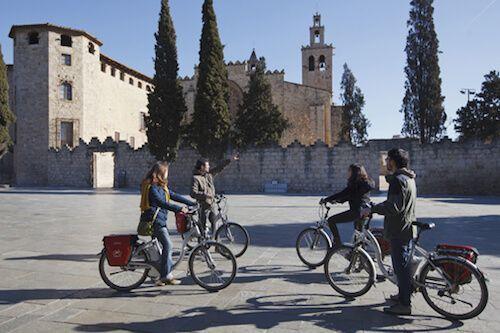 Monasterio Sant Cugat & E-Bike Tour