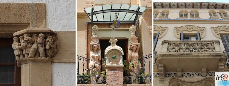 arquitectura en Sitges