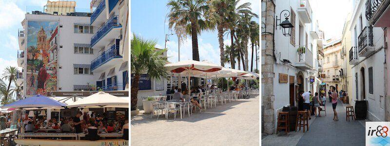 bares y restaurantes comer en Sitges