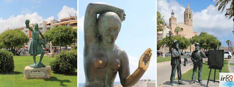 esculturas y estatuas de Sitges