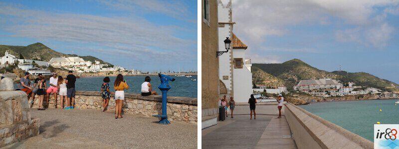 miradores Paseo Marítimo Sitges