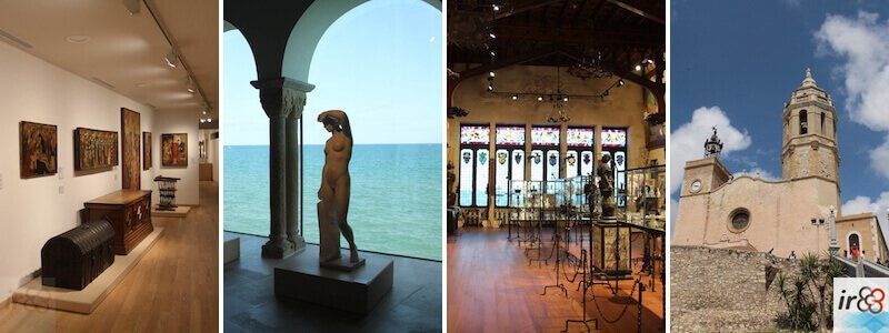 museos, iglesias y monumentos Sitges