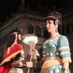 gigantes (Rey Salomón y Reina de Saba)