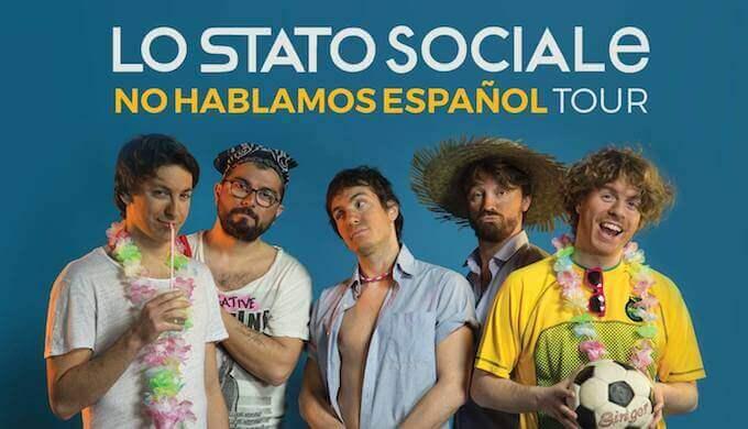 entradas concierto Lo Stato Sociale Barcelona