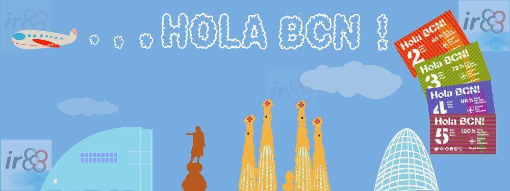 Hola BCN transporte Barcelona