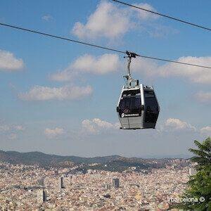 entradas Teleférico de Montjuïc