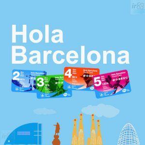 Hola Barcelona Travel Card 5 days