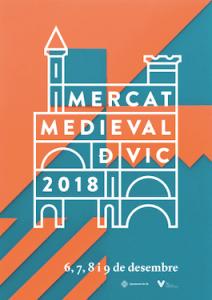 cartel Mercat Medieval Vic