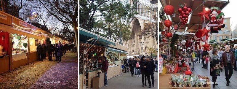 Mercados y Mercadillos Navidad Barcelona