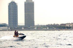 Sortie en Moto de Mer