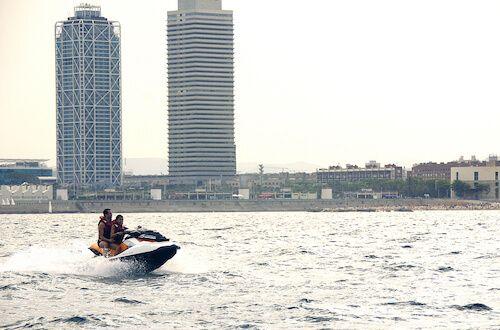 tour moto de agua Barcelona