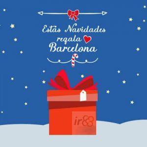 Regala Barcelona en Navidad