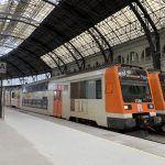 trenes Estación de Francia de Barcelona