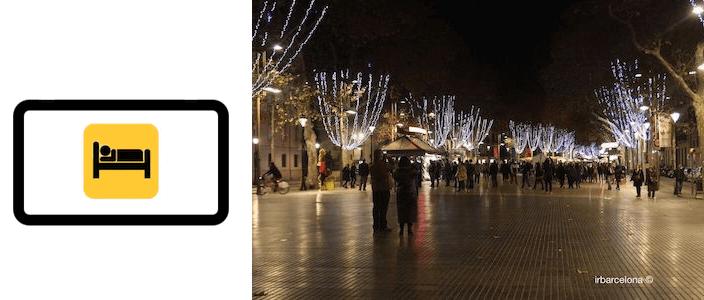hoteles, apartamentos y alojamientos La Rambla Barcelona