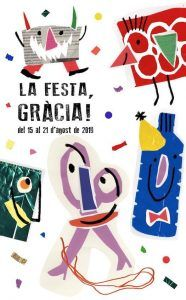cartel Fiesta Mayor Gracia 2019