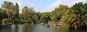 barcas parque de la Ciutadella