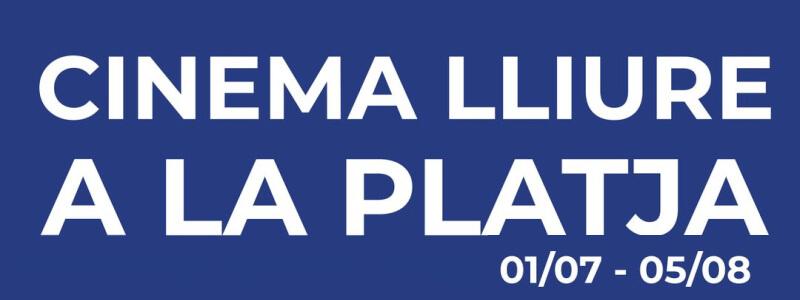 Cinema Lliure Platja (Cine aire libre playa Barcelona)
