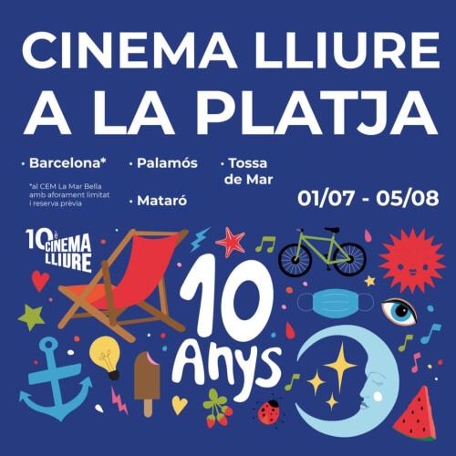 Cine playa Barcelona 2021